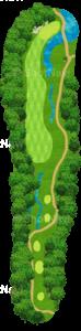 グレーストーンゴルフ&カントリークラブ ファウンダースコース 3番ホール