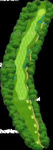 グレーストーンゴルフ&カントリークラブ ファウンダースコース 5番ホール