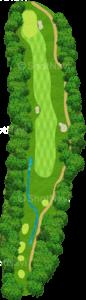 グレーストーンゴルフ&カントリークラブ ファウンダースコース 6番ホール