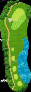 グレーストーンゴルフ&カントリークラブ ファウンダースコース 7番ホール