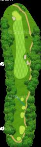 グレーストーンゴルフ&カントリークラブ ファウンダースコース 8番ホール