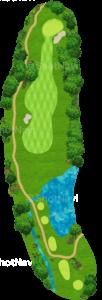 グレーストーンゴルフ&カントリークラブ ファウンダースコース 9番ホール