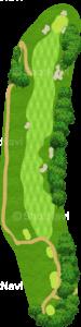 ハーバーショアーズゴルフクラブ 10番ホール