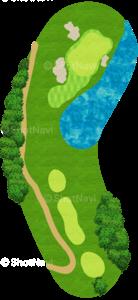 ハーバーショアーズゴルフクラブ 11番ホール