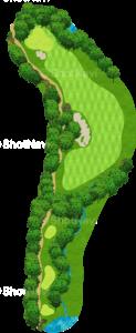 ハーバーショアーズゴルフクラブ 12番ホール