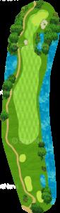 ハーバーショアーズゴルフクラブ 14番ホール