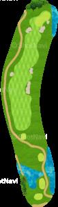 ハーバーショアーズゴルフクラブ 18番ホール