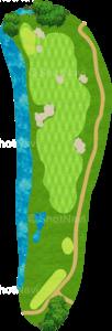 ハーバーショアーズゴルフクラブ 3番ホール