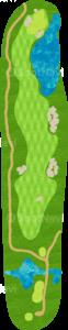 ハーバーショアーズゴルフクラブ 5番ホール