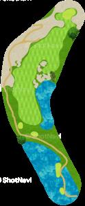 ハーバーショアーズゴルフクラブ 7番ホール
