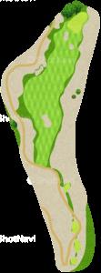 ハーバーショアーズゴルフクラブ 8番ホール