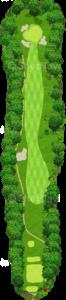 茨城ゴルフ倶楽部 東コース 10番ホール