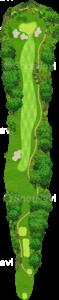 茨城ゴルフ倶楽部 東コース 15番ホール