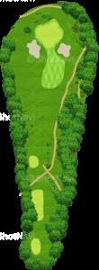 茨城ゴルフ倶楽部 東コース 2番ホール