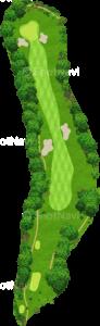茨城ゴルフ倶楽部 東コース 3番ホール
