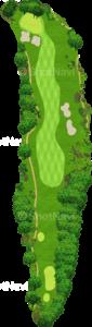 茨城ゴルフ倶楽部 東コース 5番ホール
