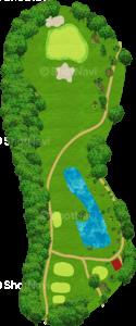 茨城ゴルフ倶楽部 東コース 6番ホール
