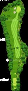茨城ゴルフ倶楽部 東コース 8番ホール