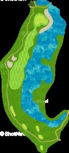 JFE瀬戸内海ゴルフ倶楽部 9番ホール