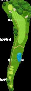 鳴尾ゴルフ倶楽部 11番ホール
