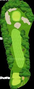 鳴尾ゴルフ倶楽部 12番ホール