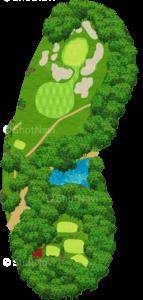 鳴尾ゴルフ倶楽部 15番ホール