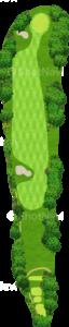 鳴尾ゴルフ倶楽部 17番ホール