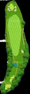 鳴尾ゴルフ倶楽部 3番ホール
