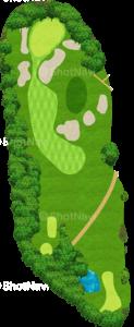 鳴尾ゴルフ倶楽部 4番ホール