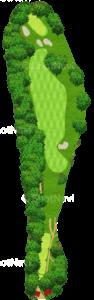 鳴尾ゴルフ倶楽部 5番ホール