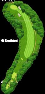 鳴尾ゴルフ倶楽部 8番ホール