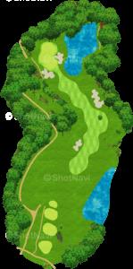 サミットゴルフクラブ 13番ホール