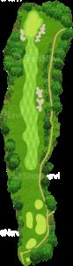 サミットゴルフクラブ 15番ホール