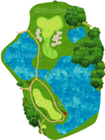 サミットゴルフクラブ 16番ホール