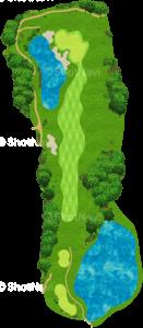 サミットゴルフクラブ 17番ホール
