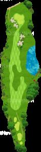 サミットゴルフクラブ 18番ホール