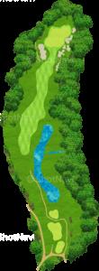 サミットゴルフクラブ 4番ホール