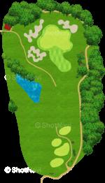 サミットゴルフクラブ 6番ホール