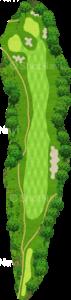 ザ・クラシックゴルフ倶楽部キングコース 1番ホール
