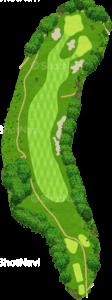 ザ・クラシックゴルフ倶楽部キングコース 2番ホール