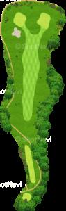 ザ・クラシックゴルフ倶楽部キングコース 5番ホール