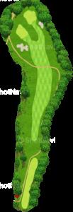 ザ・クラシックゴルフ倶楽部キングコース 6番ホール