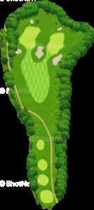 ザ・クラシックゴルフ倶楽部キングコース 7番ホール