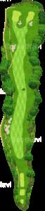 ザ・クラシックゴルフ倶楽部キングコース 8番ホール