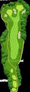 ザ・クラシックゴルフ倶楽部クイーンコース 1番ホール