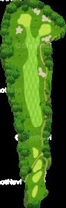 ザ・クラシックゴルフ倶楽部クイーンコース 2番ホール