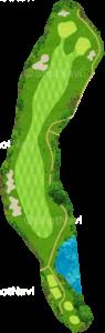 ザ・クラシックゴルフ倶楽部クイーンコース 3番ホール