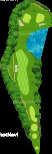 ザ・クラシックゴルフ倶楽部クイーンコース 5番ホール