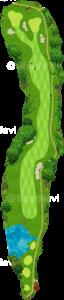 ザ・クラシックゴルフ倶楽部クイーンコース 6番ホール