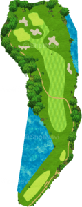 ザ・クラシックゴルフ倶楽部クイーンコース 7番ホール